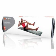 P2I Yogamatte-Fitnessmatte mit Trainingsplan Ansicht Verpackung