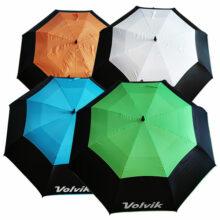 Volvik Golfschirm Automatik XXL 157cm alle 4 Farben von oben
