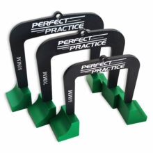 Perfect Practice Putting Gates - 3 Größen - Tore ausgepackt aufgesteckt