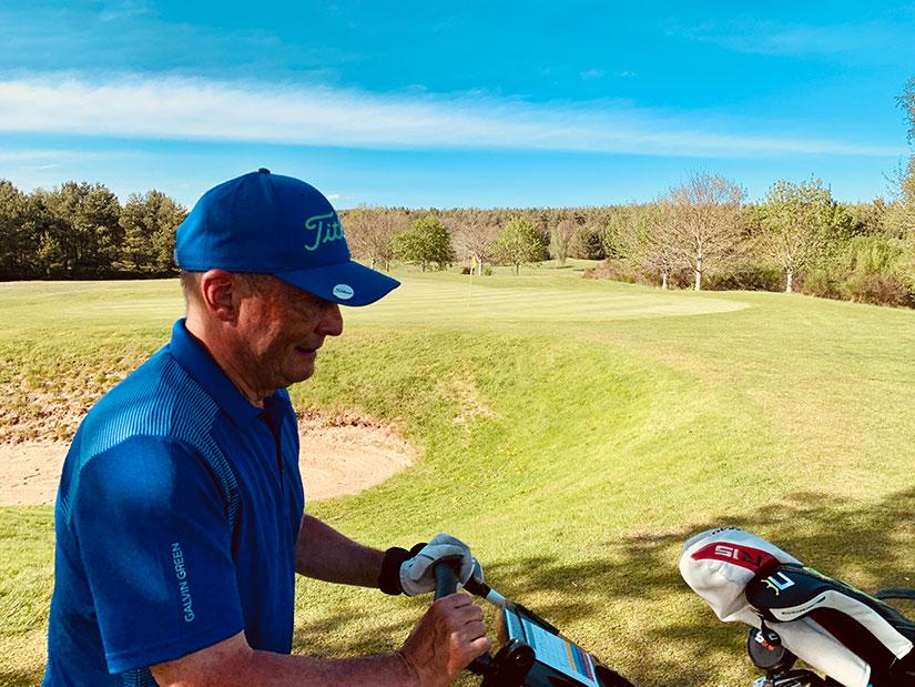 Golfbälle im Test Vision Pro Tour V und X UVee® Yellow Frank Werner
