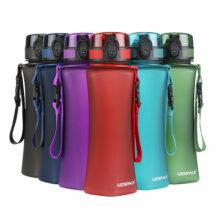 Curved Trinkflasche 0,7L Tritan BPA-Frei für Sport 6 Farben Titelbild