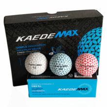 Kaede MAX Distance Golfbälle alle Farben 12er Box