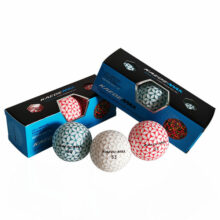 Kaede MAX Distance Golfbälle alle Farben 3er Box